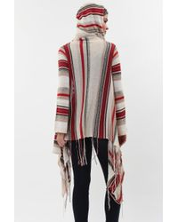 Goddis - Multicolor Linsey Hooded Wrap W/ Fringe In Sonata - Lyst