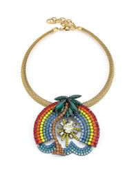 Elizabeth Cole | Blue Ambu Necklace | Lyst