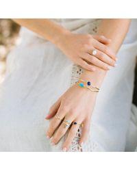 Margaret Elizabeth - Blue Stinson Bangle Lapis/ Turquoise - Lyst