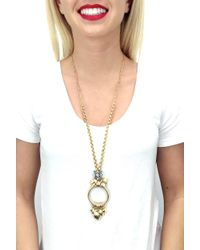 Elizabeth Cole - Metallic Jadali Necklace - Lyst