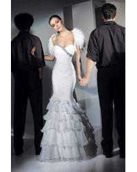 Alyce Paris - 6702 Dress In White - Lyst
