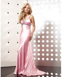 Jasz Couture - Dress In Pink - Lyst
