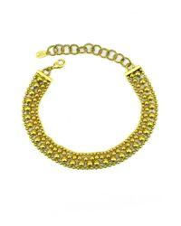 Elizabeth Cole | Metallic Bobi Necklace | Lyst