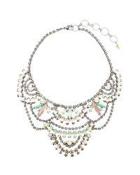Elizabeth Cole - Multicolor Stephanie Necklace - Lyst