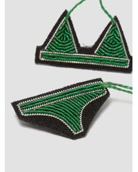 Macon & Lesquoy | Green Bikini Brooch | Lyst
