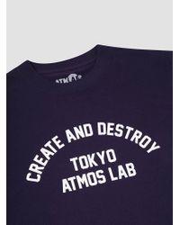 Atmos Lab - Multicolor C&d Tee for Men - Lyst