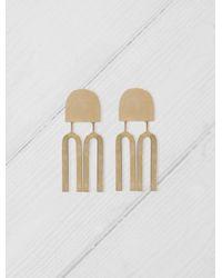 Quarry - Metallic Lautner Earrings - Lyst