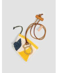 Yuketen - Metallic Loop Necklace - Lyst