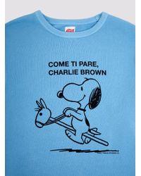 Tsptr - Blue Come Ti Pare Sweatshirt for Men - Lyst