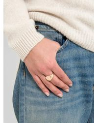 Helena Rohner | Multicolor Flat Round Front Signet Ring | Lyst