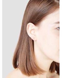 Helena Rohner - Metallic Goldplated Single Ear Cuff - Lyst