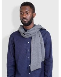 Engineered Garments - Multicolor Long Scarf Cotton Flannel for Men - Lyst