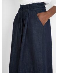 SIDELINE   Blue Orla Skirt Indigo   Lyst