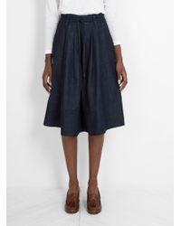 SIDELINE | Blue Orla Skirt Indigo | Lyst