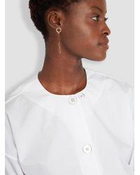 Helena Rohner | Ring, Link & Ruthenium Earrings Goldplated & Black | Lyst