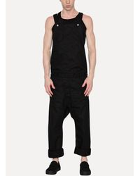 Boris Bidjan Saberi 11 - Black Overalls for Men - Lyst