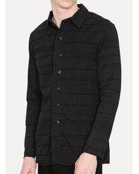 Lumen Et Umbra - Black Shirt Jacket for Men - Lyst