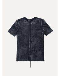 Lost & Found - Black Ss Old Metallic Short Sleeve T-shirt for Men - Lyst