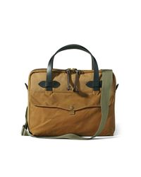 Filson - Brown Tablet Briefcase Tan for Men - Lyst