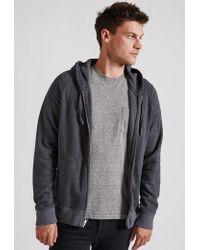 Current/Elliott   Gray Vintage Fleece Hoodie for Men   Lyst