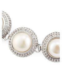Eddie Borgo - Metallic Pearl Dome Bracelet - Lyst