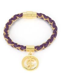 Juicy Couture | Multicolor Braided Wrap Bracelet | Lyst
