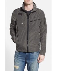 G-Star RAW - Gray 'recolite' Lightweight Military Jacket for Men - Lyst