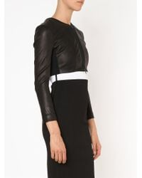 Narciso Rodriguez - Black Cropped Jacket - Lyst