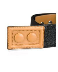 Marni - Black Contrasted Buckle Belt - Lyst