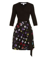 Diane von Furstenberg | Multicolor Jewel Jersey Dress | Lyst