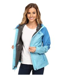 The North Face - Blue Venture Hybrid Jacket - Lyst