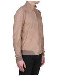 Salvatore Santoro - Natural Suede Jacket for Men - Lyst