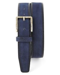 Tommy Bahama | Blue Suede Belt for Men | Lyst