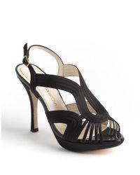 Caparros | Black Edna Slingback Sandals | Lyst