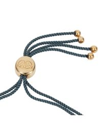 Caroline Creba - Blue 18ct Gold Plated Titania Friendship Bracelet - Lyst