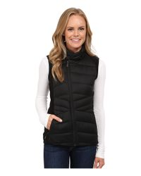 The North Face | Black Lucia Hybrid Down Vest | Lyst