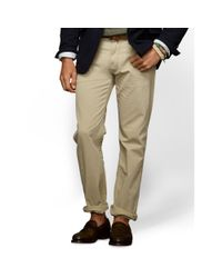 Polo Ralph Lauren | Natural Straight-fit Essential Chino for Men | Lyst