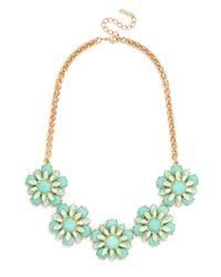 BaubleBar | Multicolor Twiggy Floral Collar | Lyst