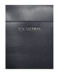 Ben Sherman | Black Iconic Synthetic Holdall for Men | Lyst