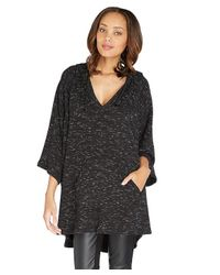 Threads For Thought | Black Mabel Poncho | Lyst