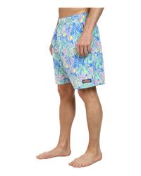Vineyard Vines | Multicolor Tropical Leaves Chappy Trunk for Men | Lyst