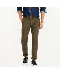 J.Crew | Green Broken-in Chino In 770 Fit for Men | Lyst