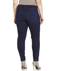 James Jeans - Blue Plus Size Leggy Z Stretch Skinny Jeans - Lyst