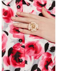 kate spade new york - Multicolor Blooming Marvelous Rose Ring - Lyst