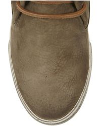 Frye   Natural Mindy Suede Ankle Boots   Lyst
