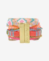 Hipanema | Lovelyness Bracelet Pink | Lyst