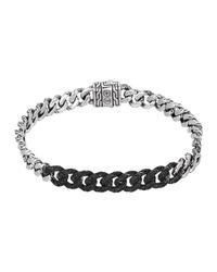 John Hardy - Metallic Classic Chain Lava Small Link Bracelet - Lyst