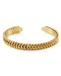 DANNIJO - Metallic Beck Bangle - Lyst