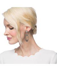 Lulu Frost - Metallic Lf X Brides Forever Statement Earring - Lyst