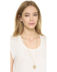 Marc By Marc Jacobs - Metallic Beat It Plectrum Pendant Necklace - Oro - Lyst
